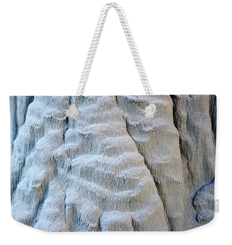 Paw Weekender Tote Bag featuring the photograph Yetti's Paw by Mike Dawson