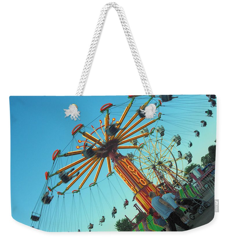 Summer Weekender Tote Bag featuring the photograph Yo Yo by Trish Hale