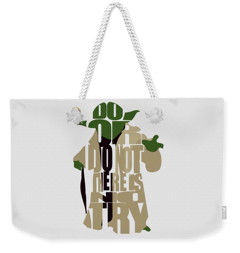 Character Digital Art Weekender Tote Bags
