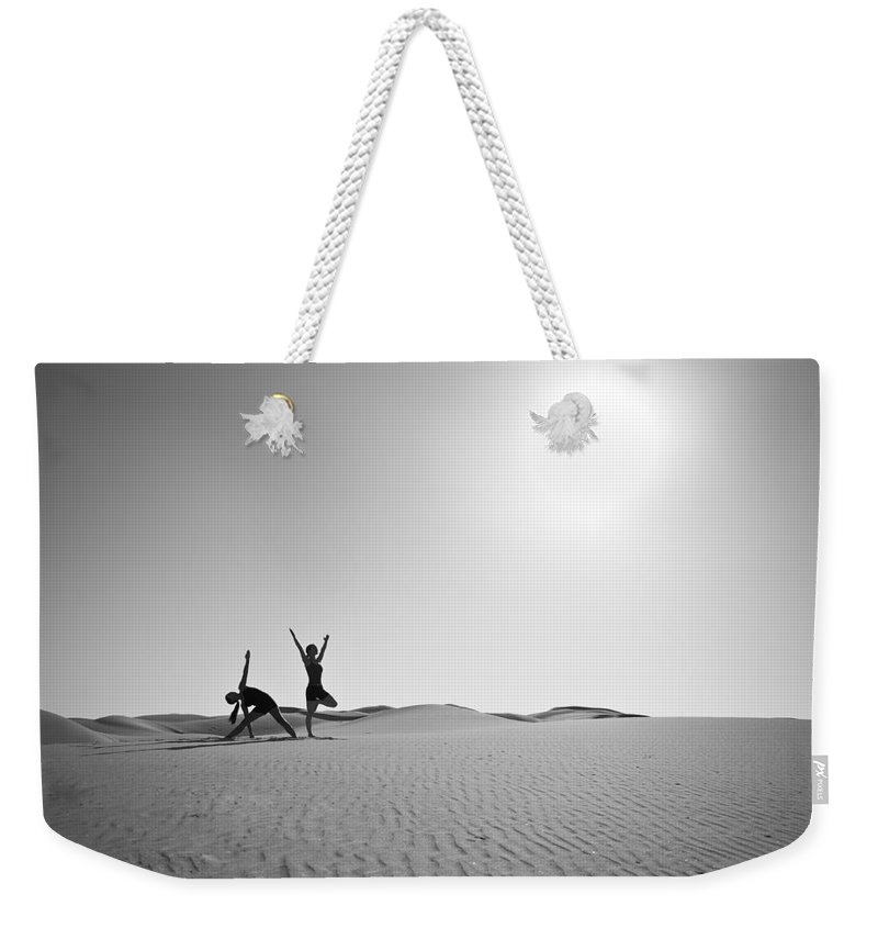 Yoga Weekender Tote Bag featuring the photograph Yoga Landscape by Scott Sawyer