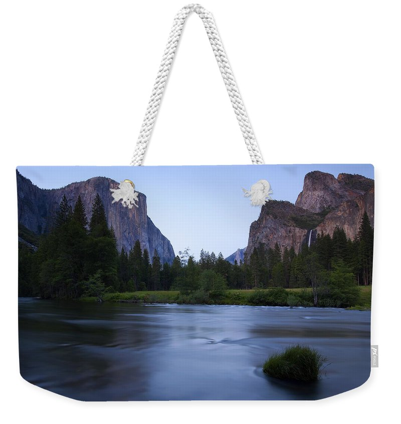 Yosemite Weekender Tote Bag featuring the photograph Yosemite Twilight by Mike Dawson