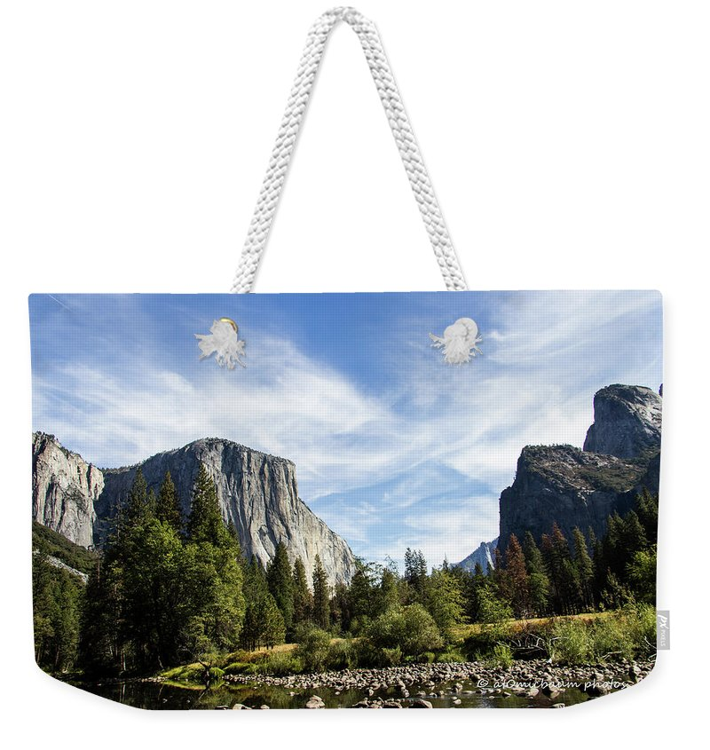 Yosemite Weekender Tote Bag featuring the photograph Yosemite Valley by Danny Baum