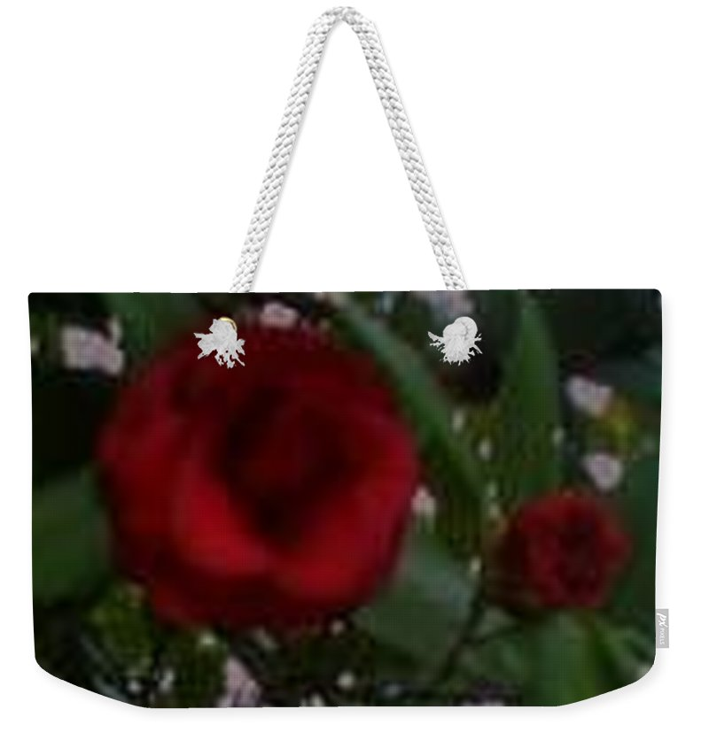 Mother And Daughter Flower Weekender Tote Bag featuring the photograph You And Me Kid by R Chambers