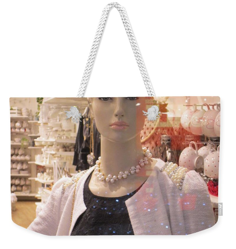 Fashions Weekender Tote Bag featuring the photograph You Are Back by Rosita Larsson