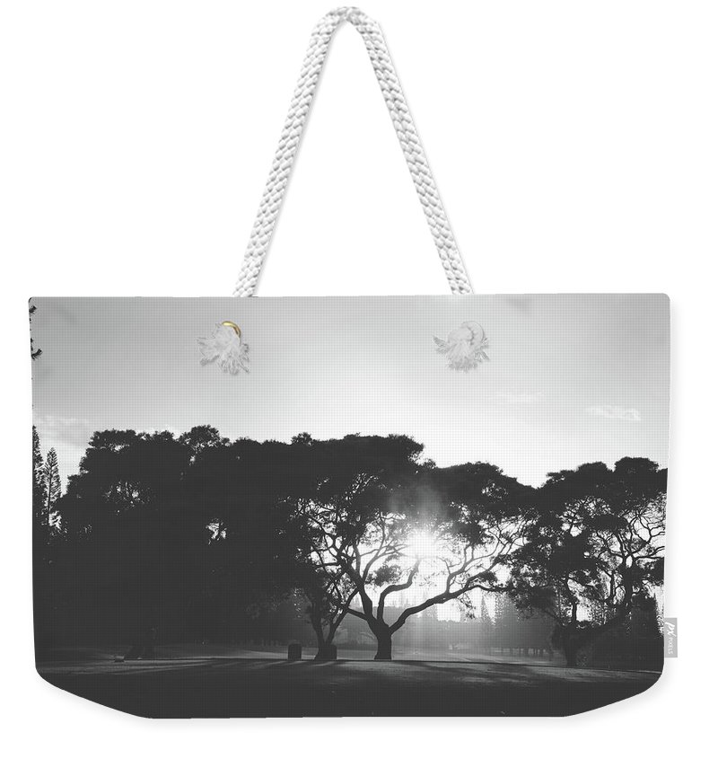 Princeville Makai Golf Club Weekender Tote Bag featuring the photograph You Inspire by Laurie Search