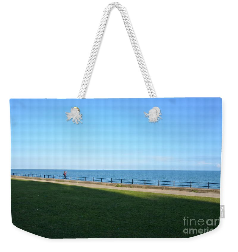 You'll Never Walk Alone Weekender Tote Bag featuring the photograph You'll Never Walk Alone by Des Marquardt