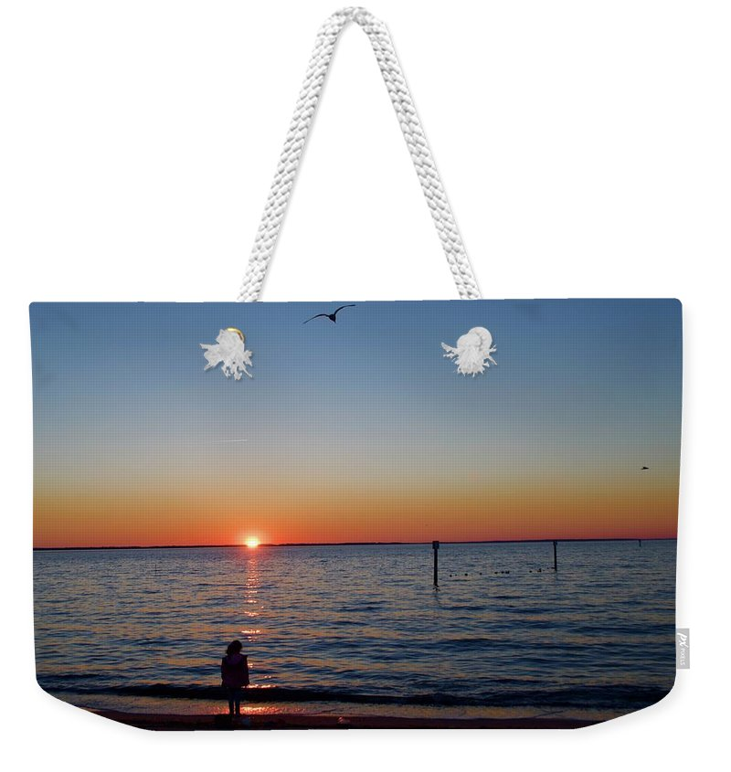 Weekender Tote Bag featuring the photograph Huntington Beach by Randy Castaneda