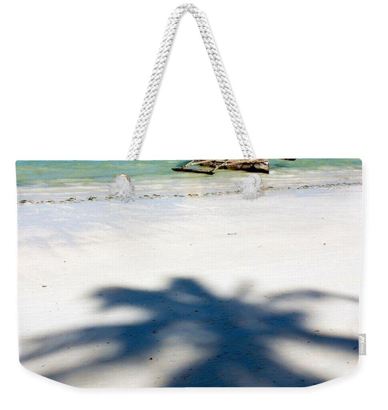 3scape Photos Weekender Tote Bag featuring the photograph Zanzibar Beach by Adam Romanowicz