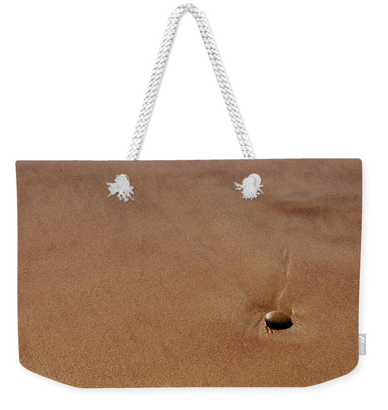 Clay Weekender Tote Bag featuring the photograph Zen At The Beach by Clayton Bruster