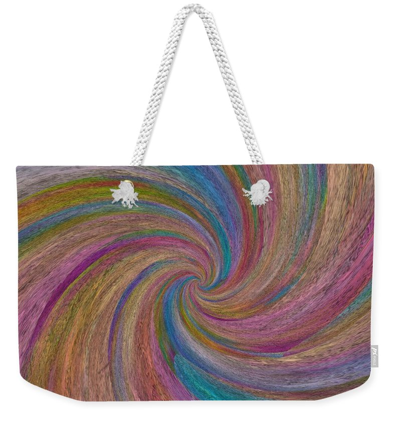 Zen Weekender Tote Bag featuring the painting Zen by Mark Taylor