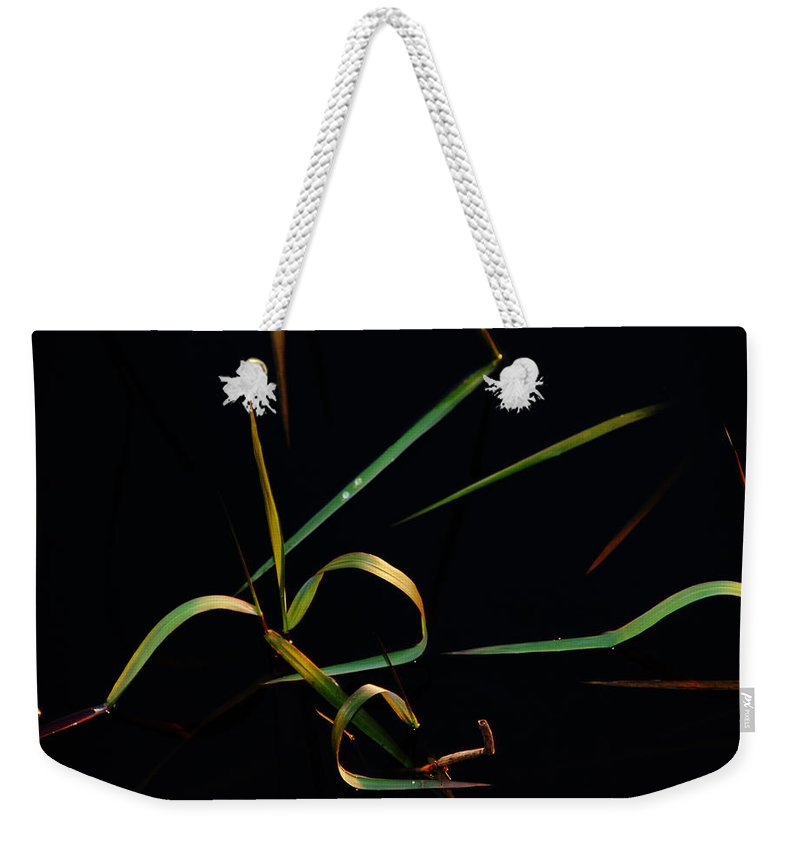 Water Weekender Tote Bag featuring the photograph Zen Photography by Susanne Van Hulst