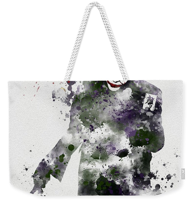 Art Weekender Tote Bag featuring the mixed media Zero Empathy by My Inspiration