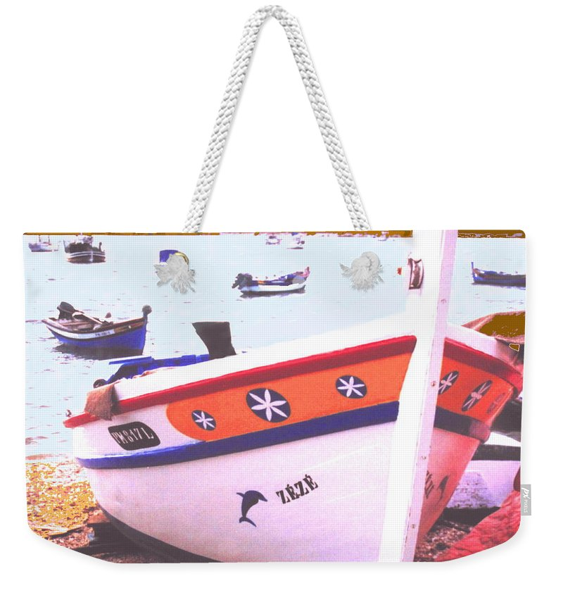 Portugal Weekender Tote Bag featuring the photograph Zeze On The Algarve by Ian MacDonald