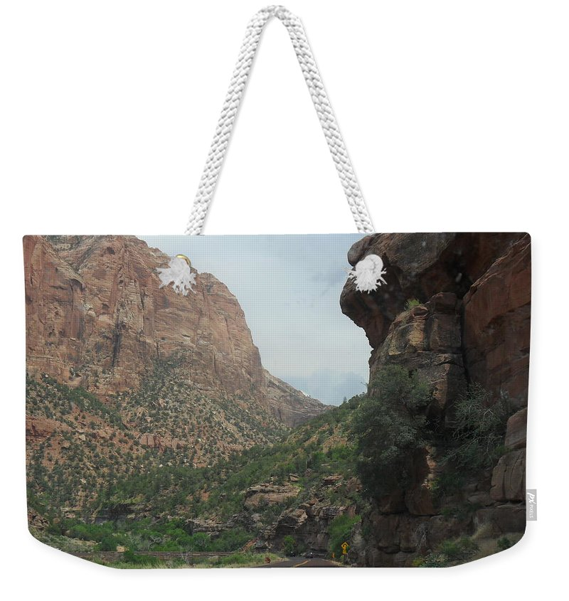 Photography Weekender Tote Bag featuring the photograph Zion National Park 4 by Jocelyn Eastman