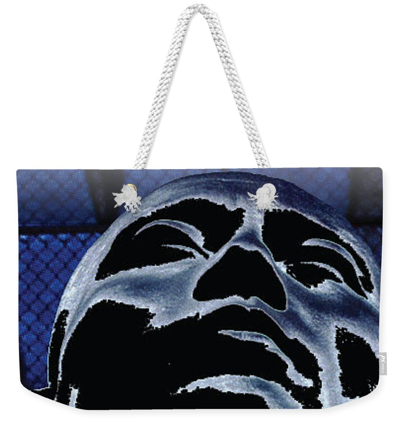 Poster Weekender Tote Bag featuring the photograph Zoulou Emperor by Line Gagne