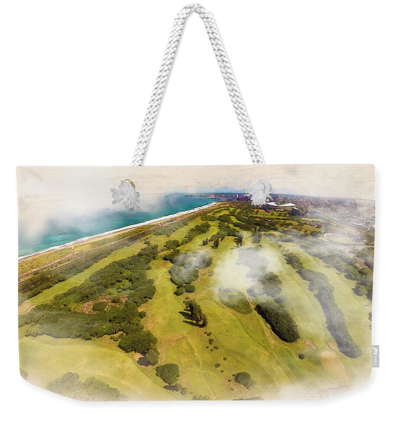 Decoration Weekender Tote Bag featuring the digital art Zulu Dawn by Don Kuing