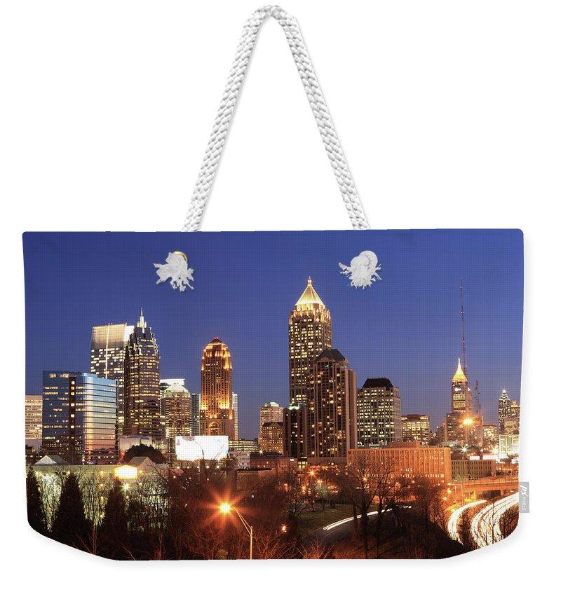 Atlanta Weekender Tote Bag featuring the photograph Atlanta, Georgia by Jumper