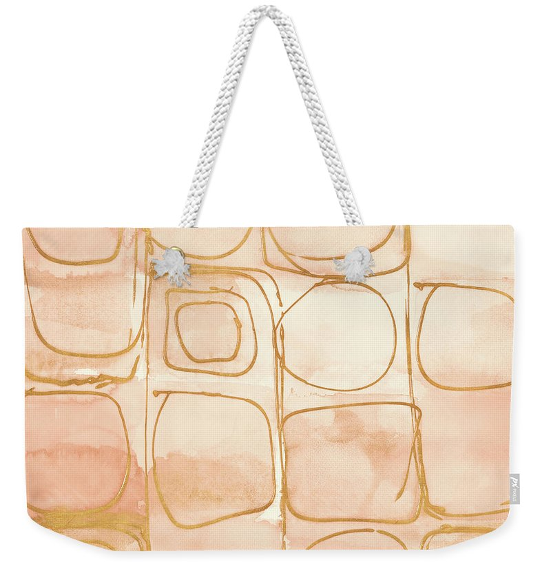 Circular Weekender Tote Bags