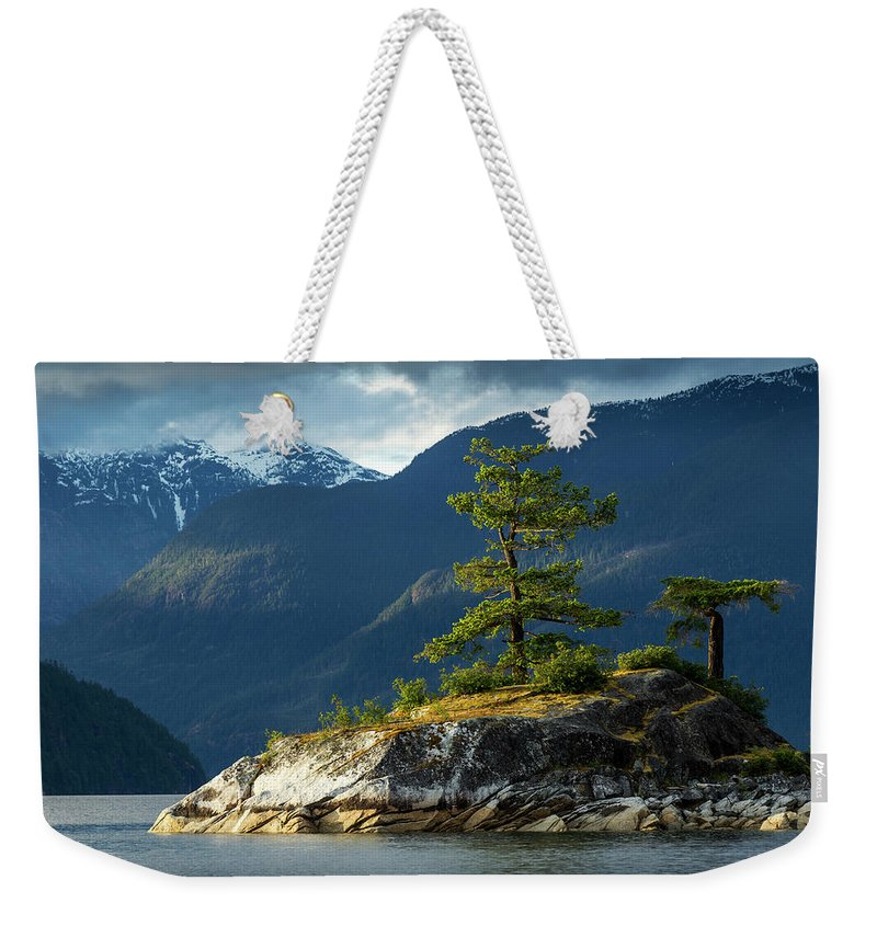 Scenics Weekender Tote Bag featuring the photograph Desolation Sound, Bc, Canada by Paul Souders