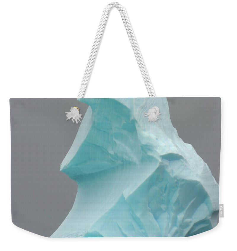 Scenics Weekender Tote Bag featuring the photograph Iceberg, Antarctic Peninsula by Eastcott Momatiuk