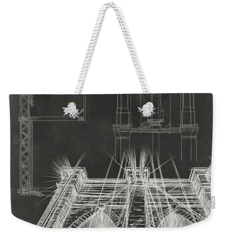 Facade Weekender Tote Bags