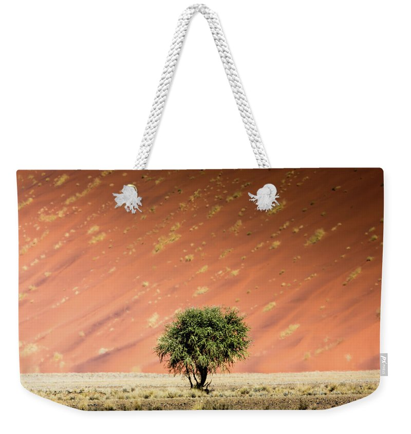 Tranquility Weekender Tote Bag featuring the photograph Namib Desert by Manuel Romaris