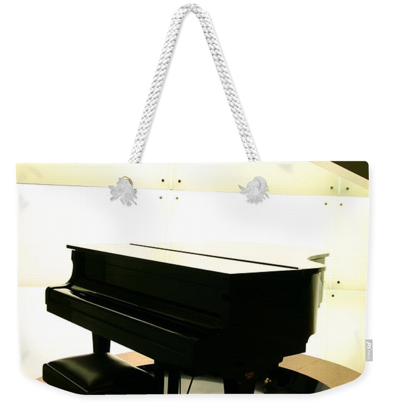 Piano Weekender Tote Bag featuring the photograph Piano by Peterhung101