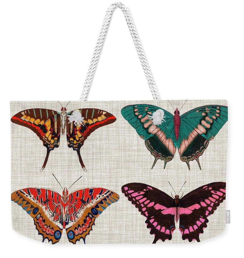 Polychrome Weekender Tote Bags