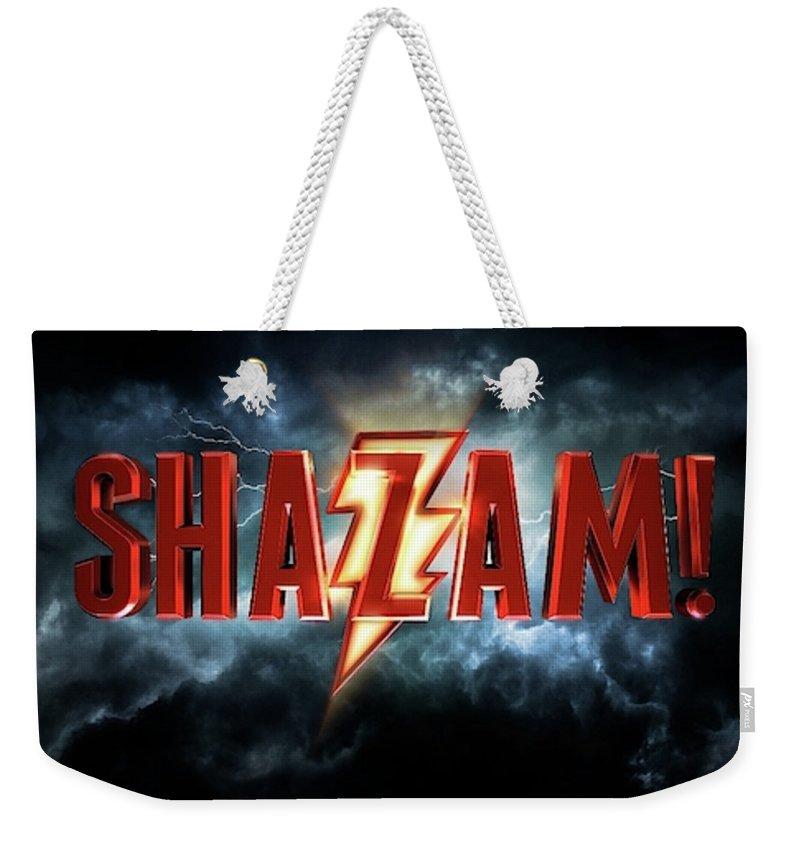 Shazam Weekender Tote Bags