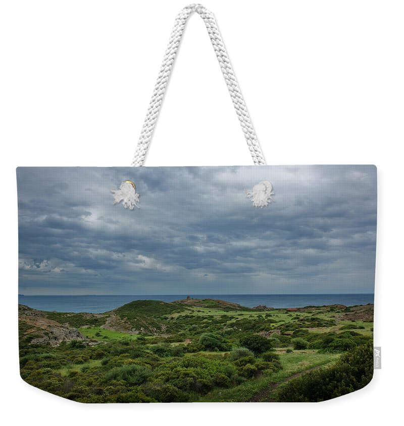 Scenics Weekender Tote Bag featuring the photograph Torre Argentina Promontory by Maremagnum