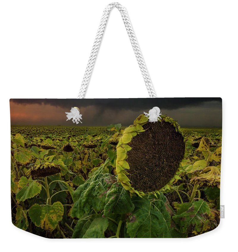 Tornado Weekender Tote Bag featuring the photograph Twisted by Aaron J Groen