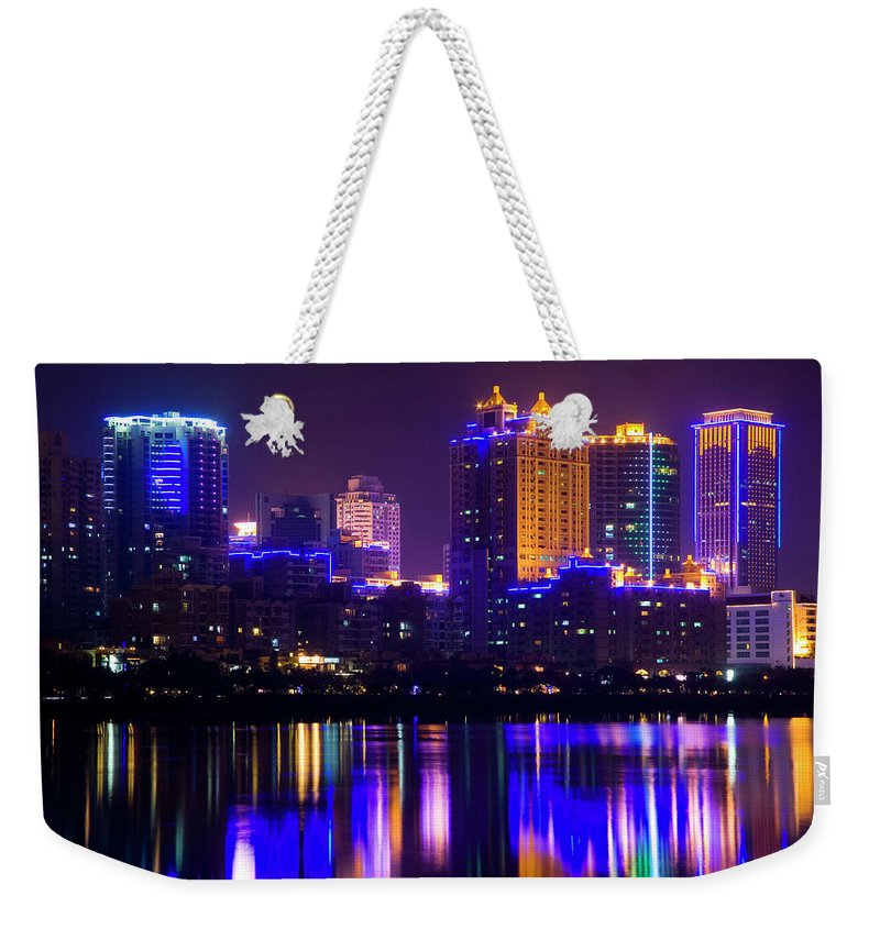 Chinese Culture Weekender Tote Bag featuring the photograph Xiamen,fujian by Best View Stock