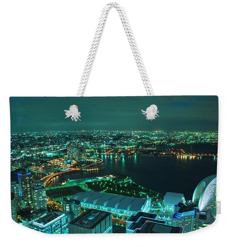 Yokohama Weekender Tote Bag featuring the photograph Yokohama by Copyright Artem Vorobiev
