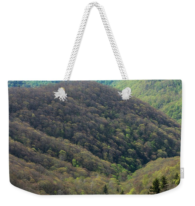 Scenics Weekender Tote Bag featuring the photograph Early Spring, North Carolina by Jerry Whaley