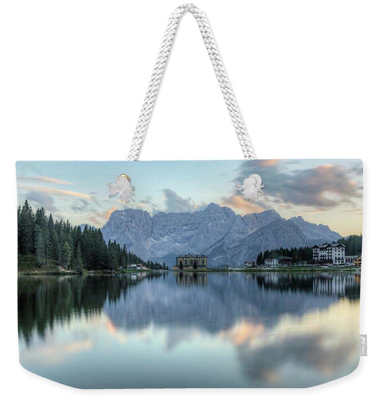 Misurina Weekender Tote Bag featuring the photograph Misurina - Italy by Joana Kruse