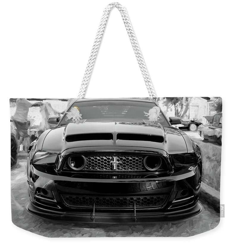 2013 Ford Mustang Boss 302 Laguna Seca Edition 10c Weekender Tote Bag For Sale By Rich Franco