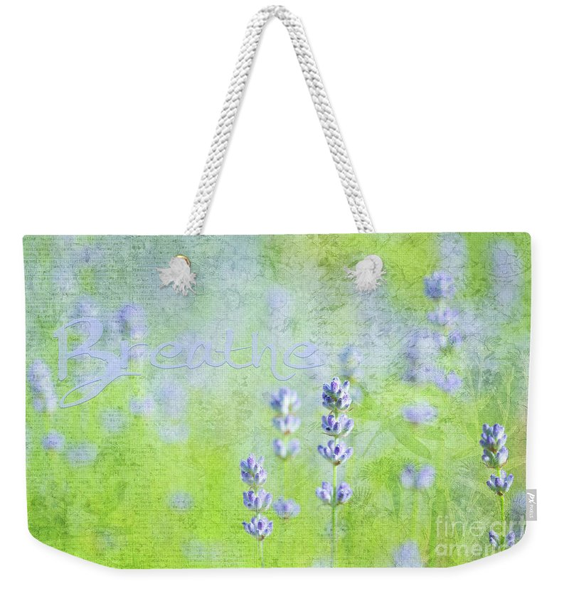Floral Weekender Tote Bag featuring the photograph 2am by Beve Brown-Clark Photography