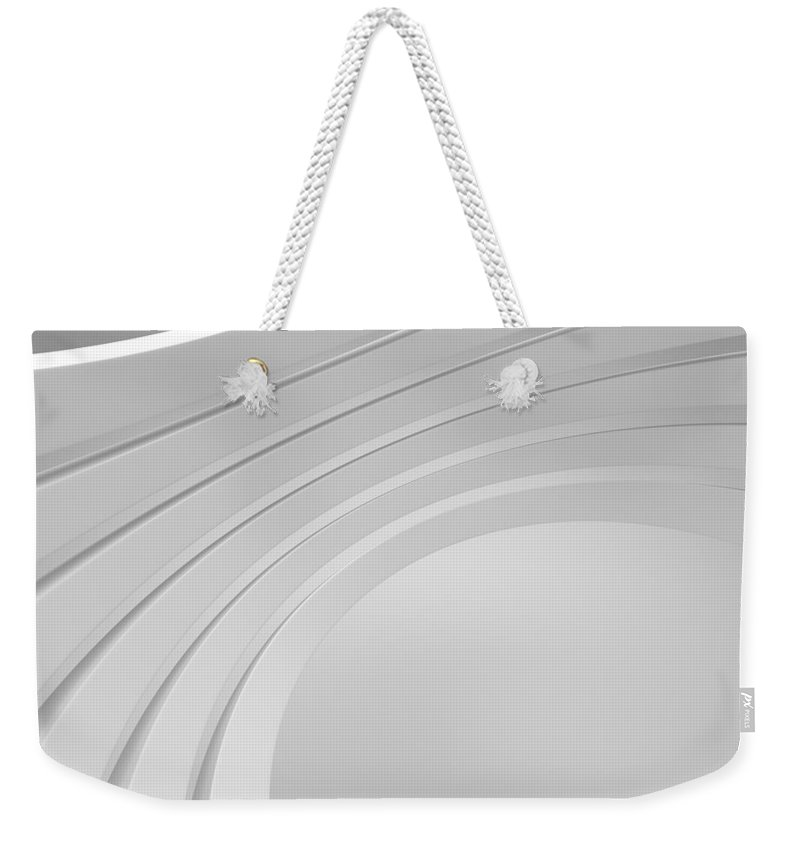 Arch Weekender Tote Bag featuring the photograph 3d Abstract Architecture Background by Me4o