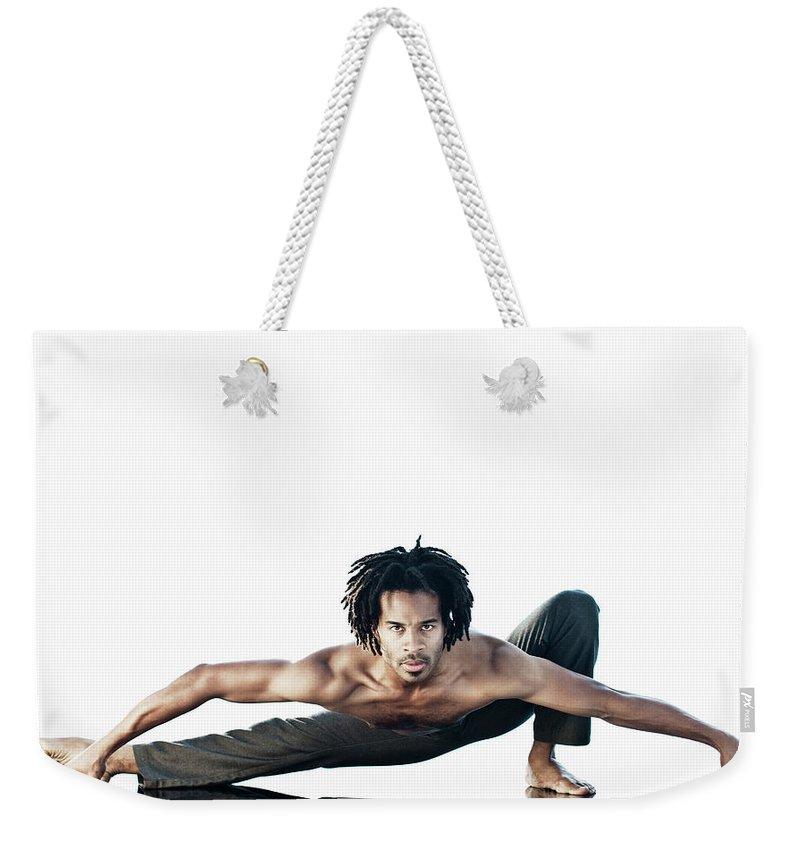 Torso Weekender Tote Bag featuring the photograph Dance Studio by Patrik Giardino