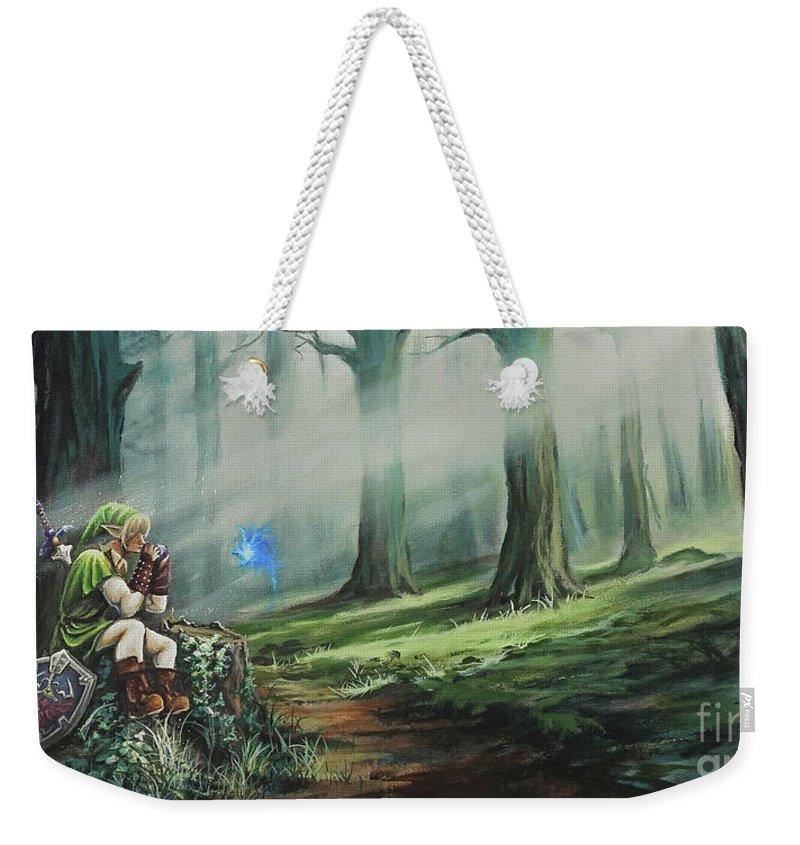 Legend Of Zelda Weekender Tote Bags