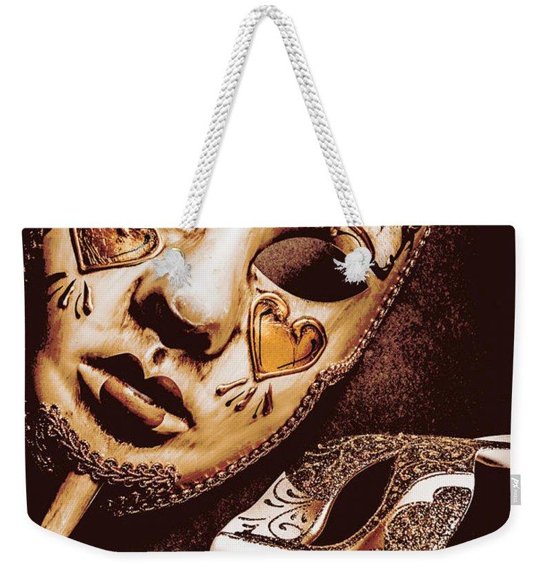 Venetian Weekender Tote Bag featuring the photograph A Venetian Affair by Jorgo Photography - Wall Art Gallery
