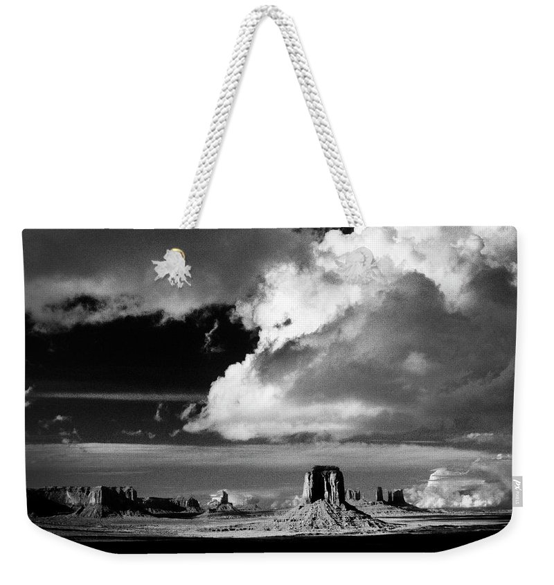 F3-a-0130-b Weekender Tote Bag featuring the photograph After A Spring Time Storm by Paul W Faust - Impressions of Light