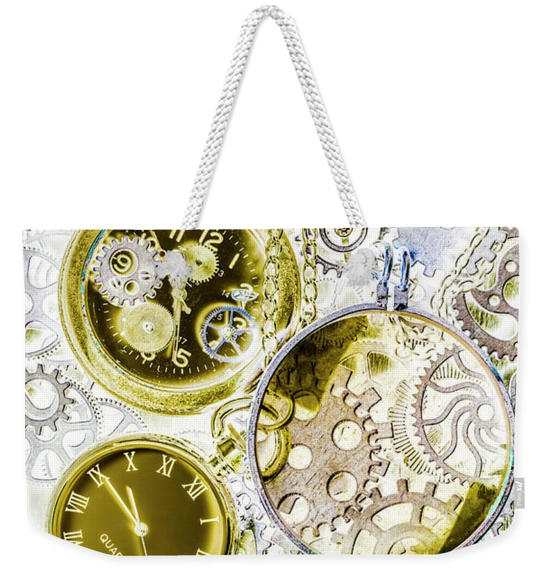 Machine Weekender Tote Bag featuring the photograph Age Of Circular Machines by Jorgo Photography - Wall Art Gallery