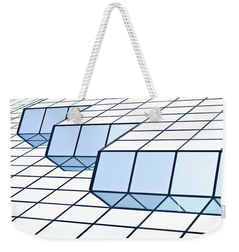 Rectangle Weekender Tote Bag featuring the photograph Almost Pure Geometry by Daniel Kulinski