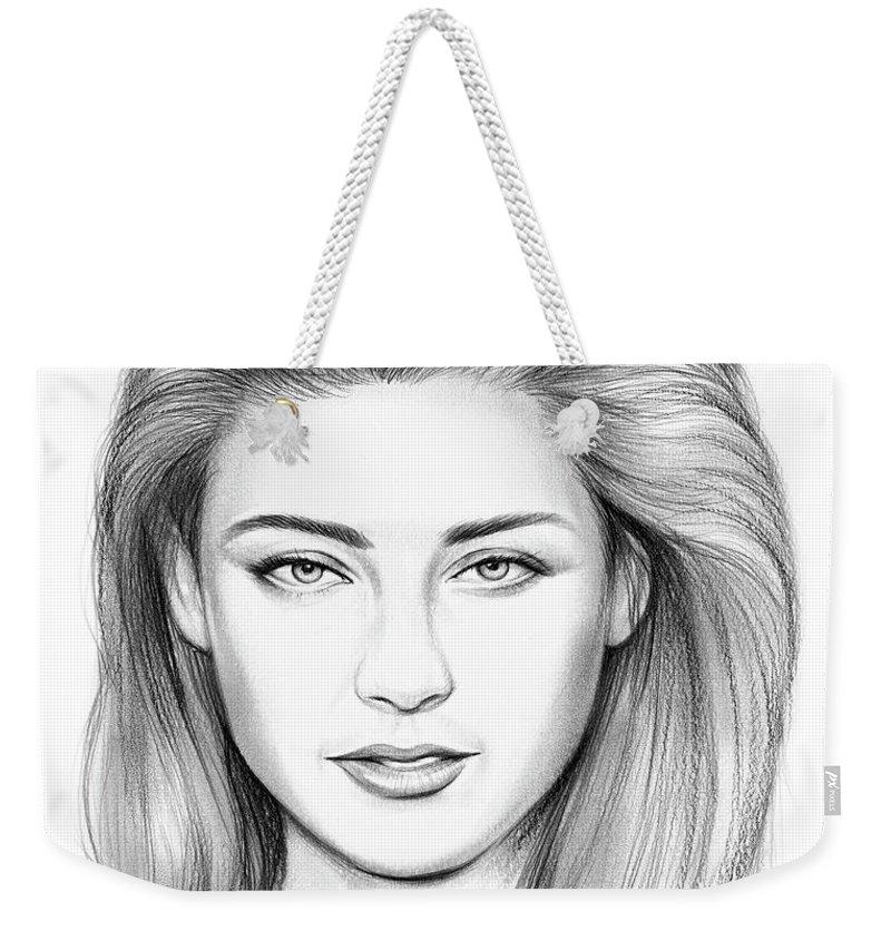 Amber Drawings Weekender Tote Bags