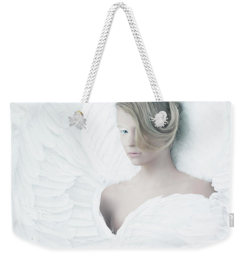 People Weekender Tote Bag featuring the photograph Angel by Colin Anderson