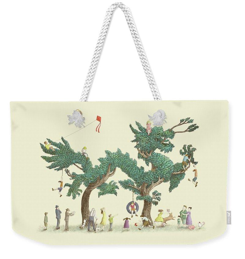 Bonsai Weekender Tote Bags