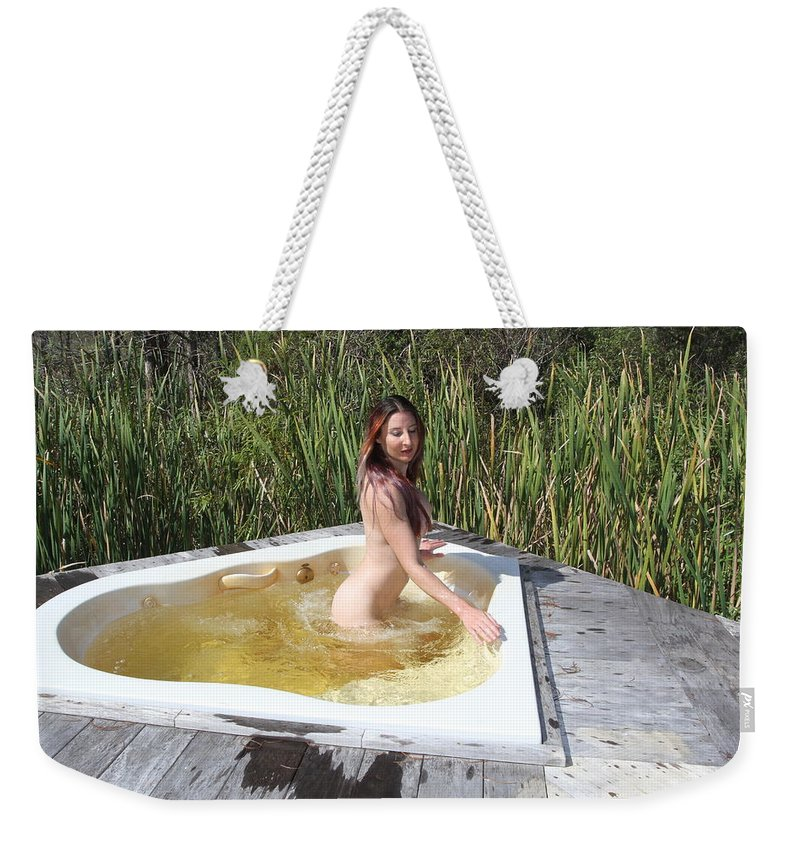 Autumn Rose Weekender Tote Bag featuring the photograph Autumn Rose 0505 by Lucky Cole