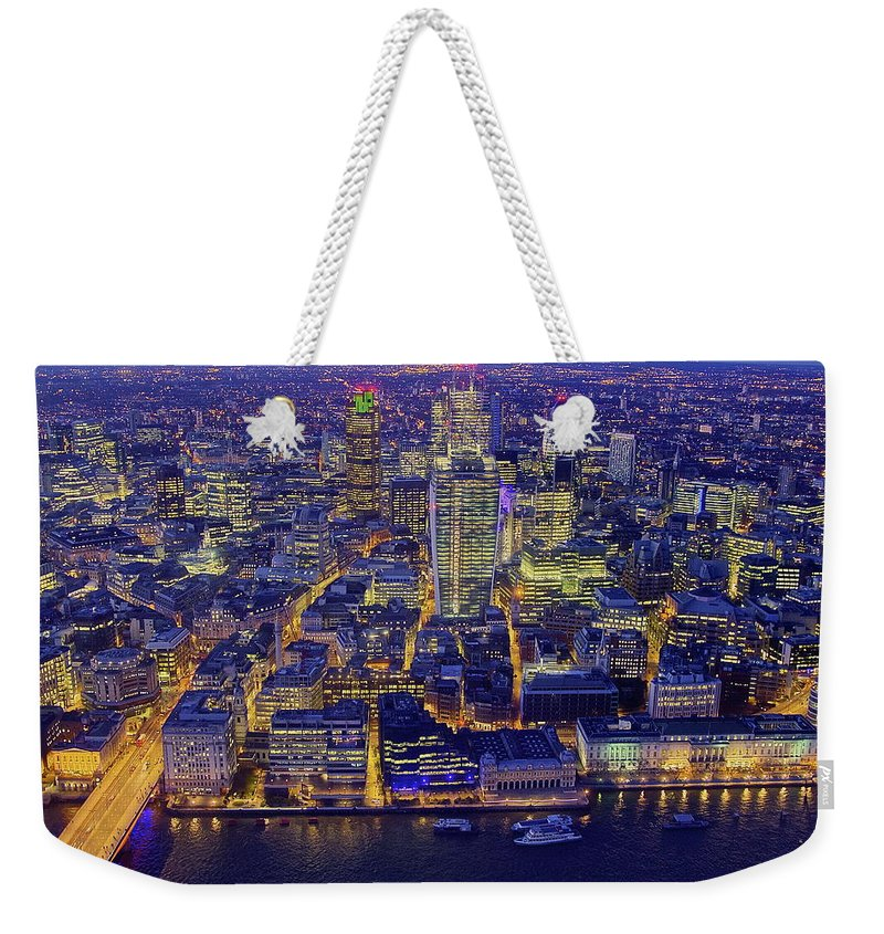 Scenics Weekender Tote Bag featuring the photograph Babel 2.0 by By Andrea Pucci