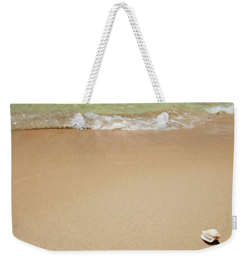Empty Weekender Tote Bag featuring the photograph Beach by Ugurhan